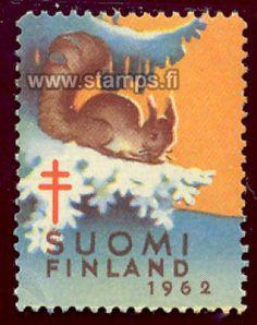1962 Orava oksalla Future Travel, Postage Stamps, Finland, Martini, Childrens Books, Nostalgia, Squirrels, Retro, Illustrations