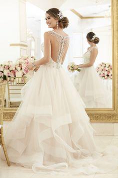 Vestidos de noiva de Stella York 2017. Modelo 6309