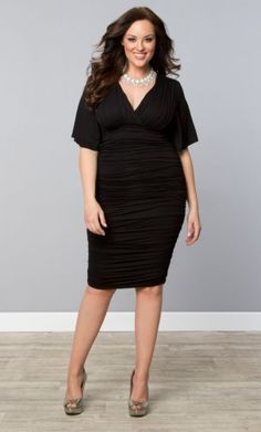 27 Plus Size Party Dresses {with Sleeves | Fashion, Clothes and Curves