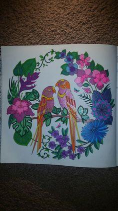 Adult Coloring Magical Jungle Book