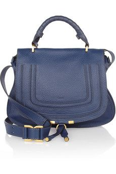 The Marcie large leather satchel by Chloe