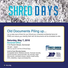 Shred Days in Somerset, Wisconsin! ♻️ #zerowaste #upcycle #reduce #responsibility #green #savetheplanet #upcycled #reuse #fun #repurpose #sustainable #sustainability #ecofriendly #organic #earth #gogreen #environment #recycle #wisconsin