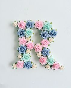 Excited to share the latest addition to my shop 10 cm to hang personalised wooden floral letter decorated paper flowers floral decor prop wedding Hanging Paper Flowers, Paper Flower Wall, Flower Wall Decor, Wood Letter Crafts, Painting Wooden Letters, Painted Letters, Hanging Letters, Diy Letters, Wood Letters Decorated