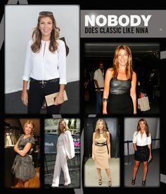 RedCarpetRumba.com takes a look at Nina Garcia's classic and timeless style