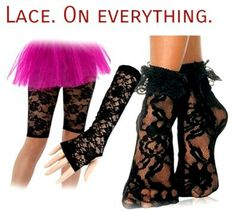 Lace One Everything # 80's Style