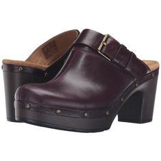 8bc03436020 Clarks Ledella York Aubergine Leather - Zappos.com Free Shipping BOTH Ways  Leather Clogs