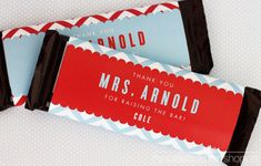 free teacher appreciation printables. thank you for raising the bar. candy bar.