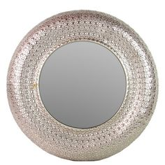 Brimming with visual intrigue and sculptural allure, this beautifully crafted wall mirror adds an artful finishing touch to your entryway, den, or dining roo...    $136 Great BUY BUY BUY