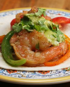 One-Pan Shrimp Fajitas | One-Pan Shrimp Fajitas