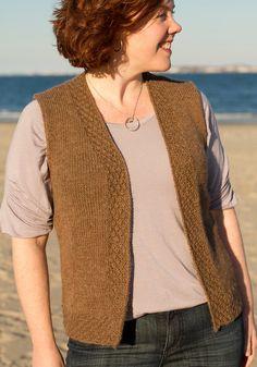 Knitting Designs, Knitting Patterns Free, Knit Patterns, Hand Knitting, Crochet Vest Pattern, Knit Crochet, Quick Knits, Knit Cardigan, Ravelry
