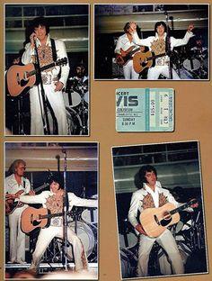 ELVIS' LAST CONCERT, June 26, 1977, Indianapolis............lbxxx.