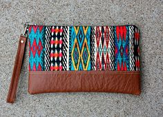 Navajo Clutch by SweetPeaTotes on Etsy