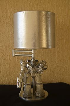 c55c10fbf72371 Transformer Lamp-Megatron by SketchesBySherri on Etsy Home Crafts
