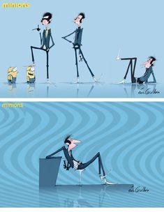 Minions, concept art Eric Guillon