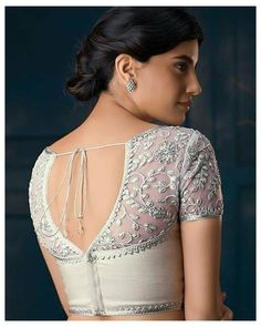 10 Perfect Cotton Saree Blouse Back Neck Designs for the Bride #blouse #back #neck #designs #pattern #net #blousebackneckdesignspatternnet Cotton saree is everything elegant in a wedding and if you're planning to flaunt it this season, here are cotton saree blouse back neck designs to amp it up!