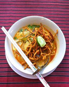 Khao Soi - Top 5 Favorite Thai Foods
