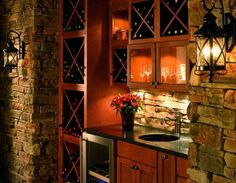 home wine bar | wine bar | 645 For the Home...Bars & Wine Cellars