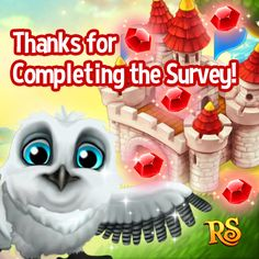 If you filled in our Survey and gave us a CORRECT SNSID you can now claim ONE RUBY from your Message Center!  5 RUBIES have been sent to 5 lucky dogs. Go play your game and claim the rewards NOW! http://t.funplus.com/trenfpu Like & Share if you've got the RUBY! #RoyalStoryTwitter