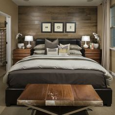 Lansdowne by Shea Homes- Country inspired Master Bedroom