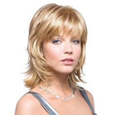Shop online for the Rene of Paris Bailey wig, shown in Butter Pecan colour. Undeniably elegant with its shoulder length, easy flowing layers, you'll be hooked! Hi Fashion, Shoulder Length, Wigs, Butter Pecan, Elegant, Hair Styles, Layers, Paris, Colour