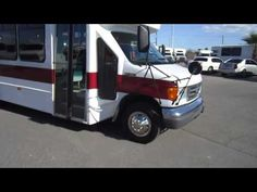 Used Wheelchair Bus - 2005 Ford E450 Startrans Bus For 20 Passengers Or 16 Plus 2 Wheelchairs S49105 - http://wheelchairshandy.com/used-wheelchair-bus-2005-ford-e450-startrans-bus-for-20-passengers-or-16-plus-2-wheelchairs-s49105/