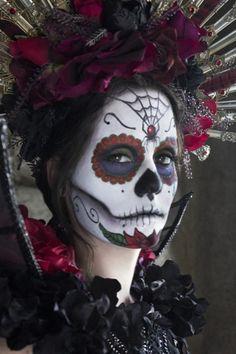 Maquillaje de Halloween MAC por Rick Baker