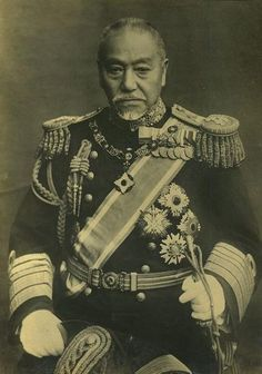 東郷平八郎(海軍大将) Togo Heihachiro, fleet admiral