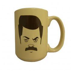 Ron Swanson mug #ParksandRec $14
