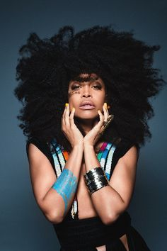Erykah Badu - Gaaahhh! The Doula Mama has me dying!