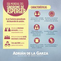 Hoy es el Día Mundial del Síndrome de Asperger, un trastorno poco conocido por nuestra sociedad, les comparto la siguiente información para que lo puedan detectar o simplemente comprender a las personas que lo padecen.