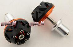 42.23$  Buy now - http://alif42.shopchina.info/go.php?t=2044816320 - CNC Stator Cover Slider Frame Protector Crash For YAMAHA 2004-2009 FZ6 Orange 04 05 06 07 08 09 42.23$ #aliexpress