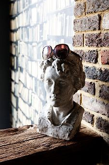 I love designer Abigail Ahern's quirky style. Photo's by the Selby at her place in London.