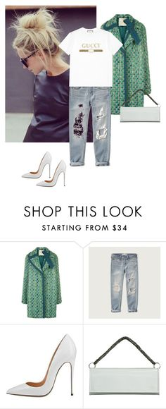 """""""Untitled #1451"""" by randeee ❤ liked on Polyvore featuring Marco de Vincenzo, Abercrombie & Fitch, Vetements and Gucci"""