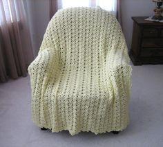 Luscious Lace Crochet Blanket | AllFreeCrochet.com