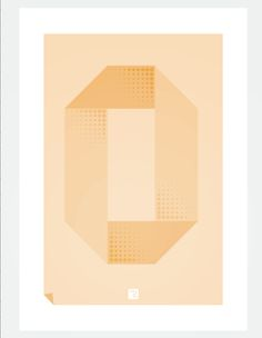 O for Over. Part of a typographic experiment. #typograpy #type #O #illustration #print #lettering #fold