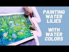 (1) Watercolor Painting/ WATER LILIES - YouTube Watercolors, Watercolor Paintings, Facebook Art, Painting Process, Water Lilies, Painting Tutorials, Art Pages, Say Hi, Lily