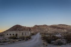 A small portion of the remains in Rhyolite, Nevada. The ghosts have slipped into the dark recesses and the steel wool has been put away for another day. The ghost town is not near as ominous during the day as it is at night. You want to visit at night.  Photos by David Seibold