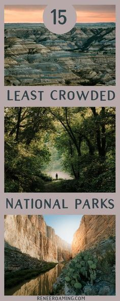 15 Least Crowded National Parks in the US - Renee Roaming. Visiting National Parks throughout America should be everyone's goal! Check out how you can visit the 15 least crowded parks around America. Solo Travel, Travel Usa, Travel Tips, Travel Packing, Travel Goals, Travel Ideas, Texas Travel, Paris Travel, Travel Backpack