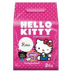 Areia Higiênica Hello Kitty Rosa - Meuamigopet.com.br #cat #cats #gato #gatinho #bigode #muamigopet