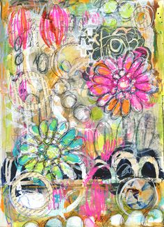 FROM HERE TO THERE Art Journaling Workshop - Roben-Marie Smith - The Studio -