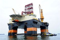 Liberian-flagged and DNV-classed, Scarabeo 9 is a semi-submersible drilling vessel built by Yantai Raffles that conducted a deepwater drilli...