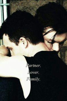 Partner. Lover. Family. True love #Gallavich