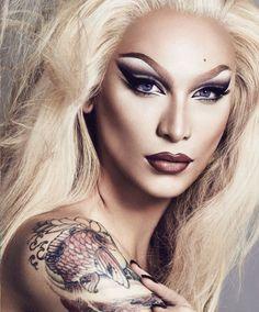 Drag Queen Makeup, Drag Makeup, Goth Makeup, Hair Makeup, Tush Magazine, Rupaul Drag Queen, Photographie Portrait Inspiration, Makeup Inspiration, Beauty Women