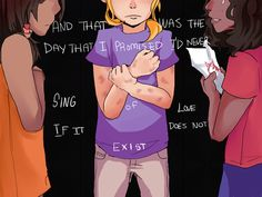 """Pt.4 """"And that was the day that I promised I'd never sing of love if it does not exist."""" - Piper, Annabeth,  Hazel"""