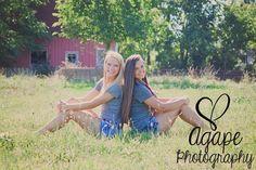 Best Friends Shoot in front of a barn! :) LOVE!