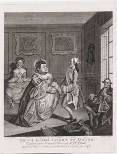 """Grown Ladies Taught to Dance"", 1768; LWL 768.01.01.04+"