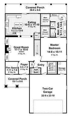 Awesome Perfect For Narrow Lots Hwbdo69199 Ranch House Plan From Largest Home Design Picture Inspirations Pitcheantrous
