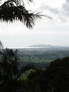 View from the hinterland