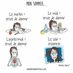 Sommeil, je te hais. #insomnie#dodo#moid#lifestyle#confidentielles#illustration