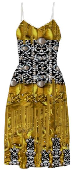 Fantasy gold and pearls from Print All Over Me